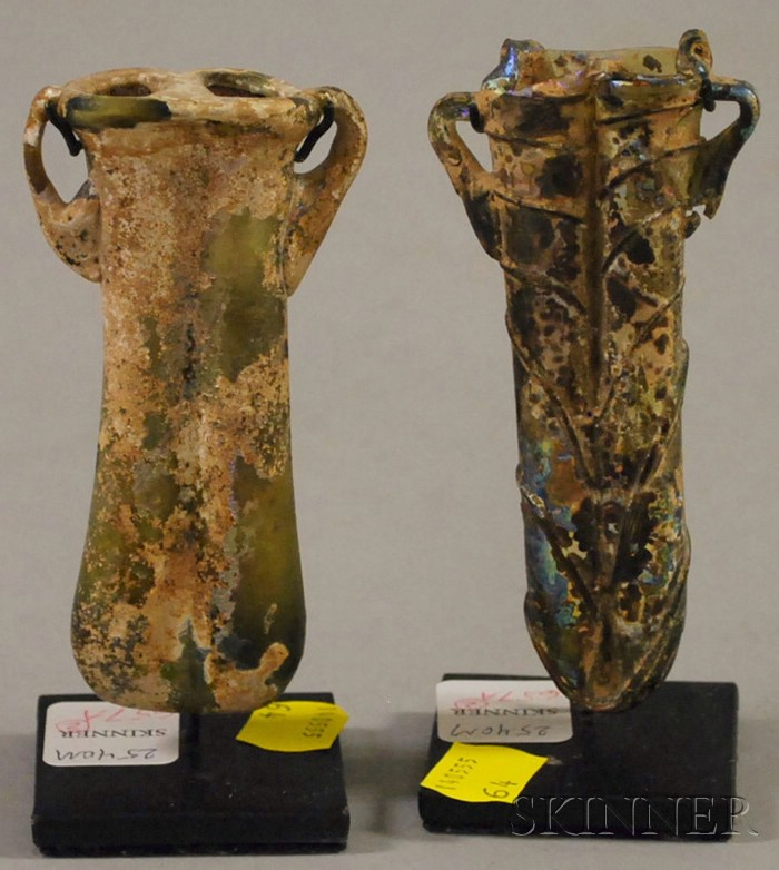 Two Pieces of Roman Glass