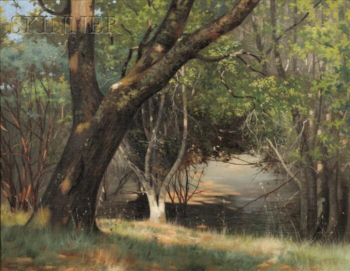 Hubert Vos (American, 1855-1935)      Autumn