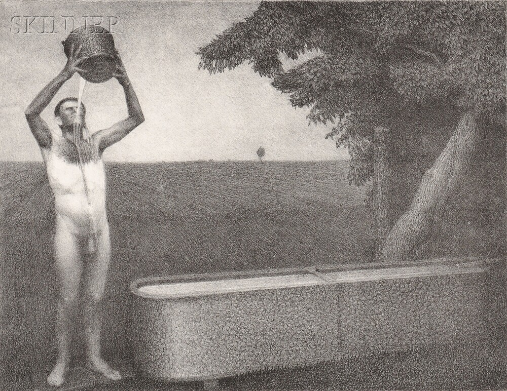 grant wood Grant wood - complete collection of art, limited editions, prints, posters and custom framing on sale now at printscom.