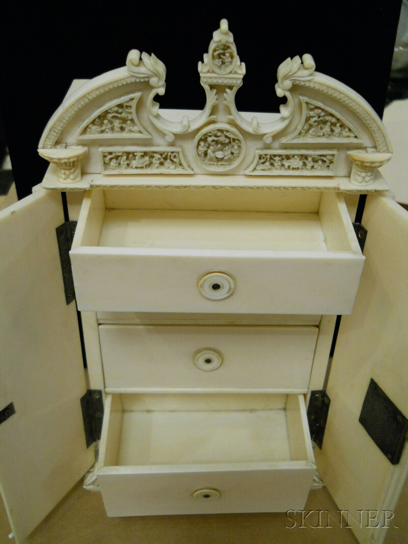 Export Ivory Cabinet