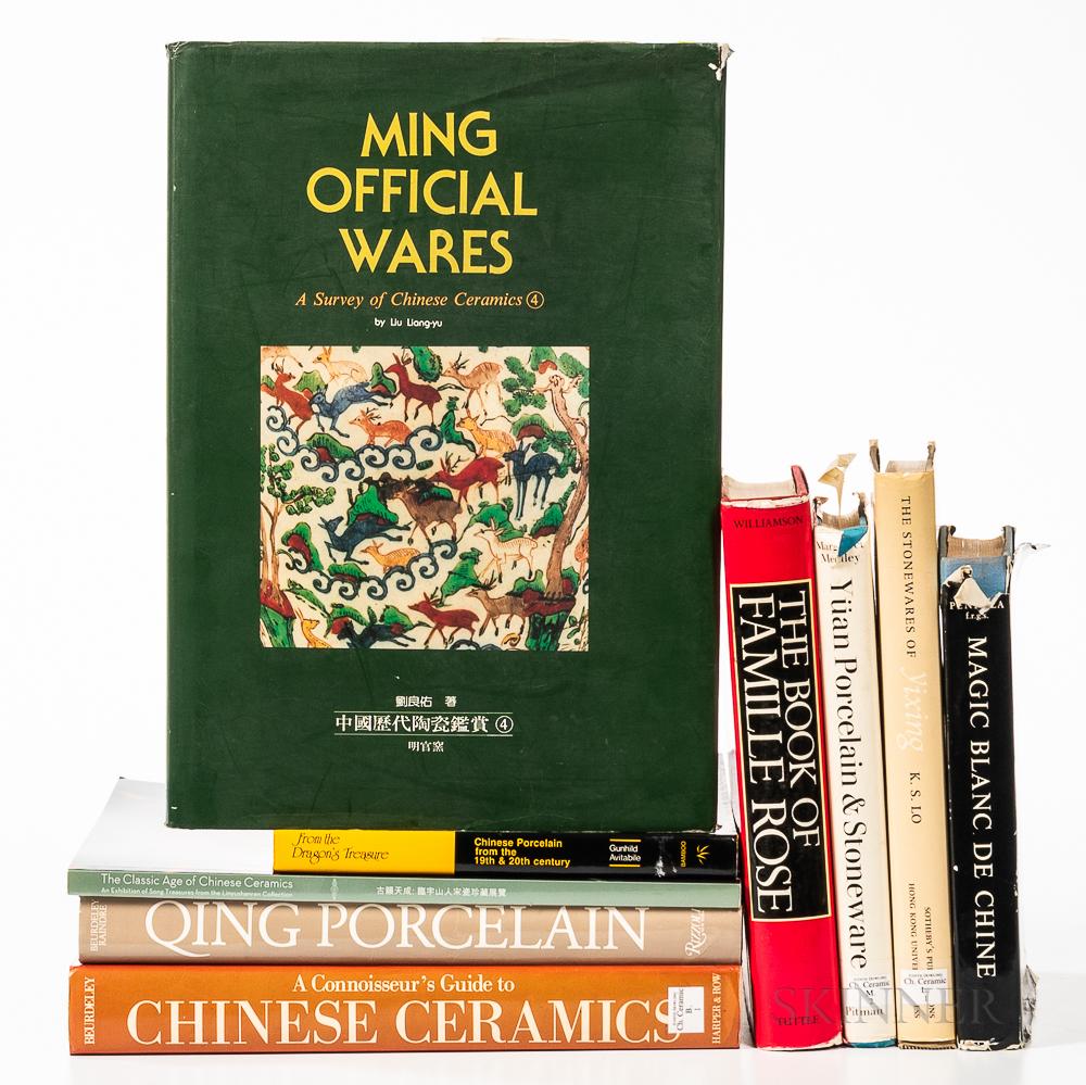 Nine Reference Books on Chinese Ceramics