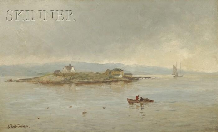 Alice Preble Tucker De Haas (American, 1859-1920)      Misty Shore