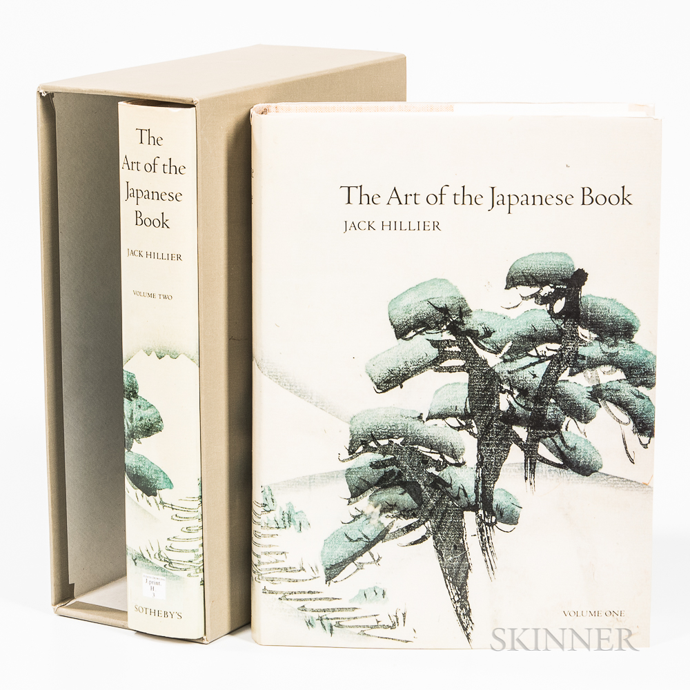 Jack Hillier, The Art of the Japanese Book  ,