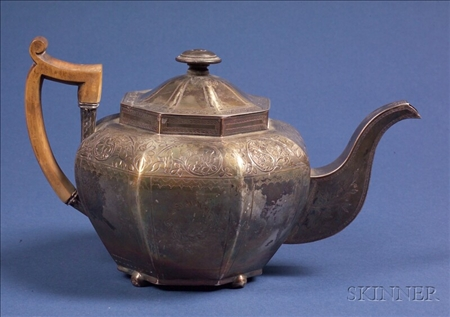 Irish George III Silver Teapot
