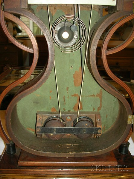 Rosewood Bench-Made Reproduction Acorn Clock