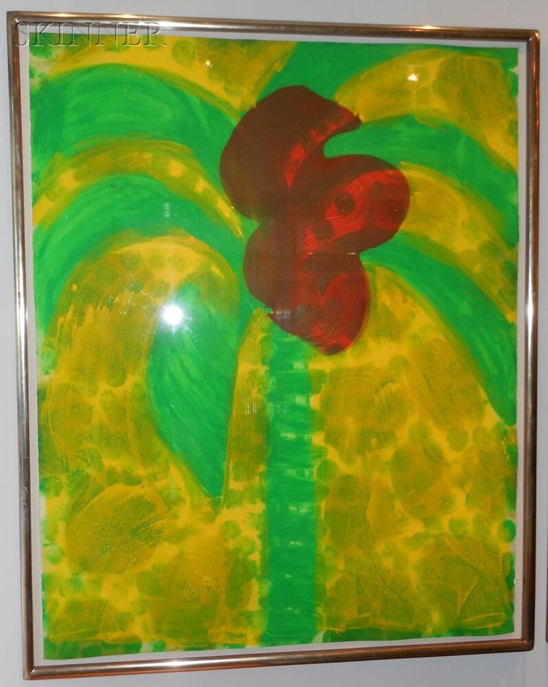 Howard Hodgkin (British, b. 1932)      Flowering Palm