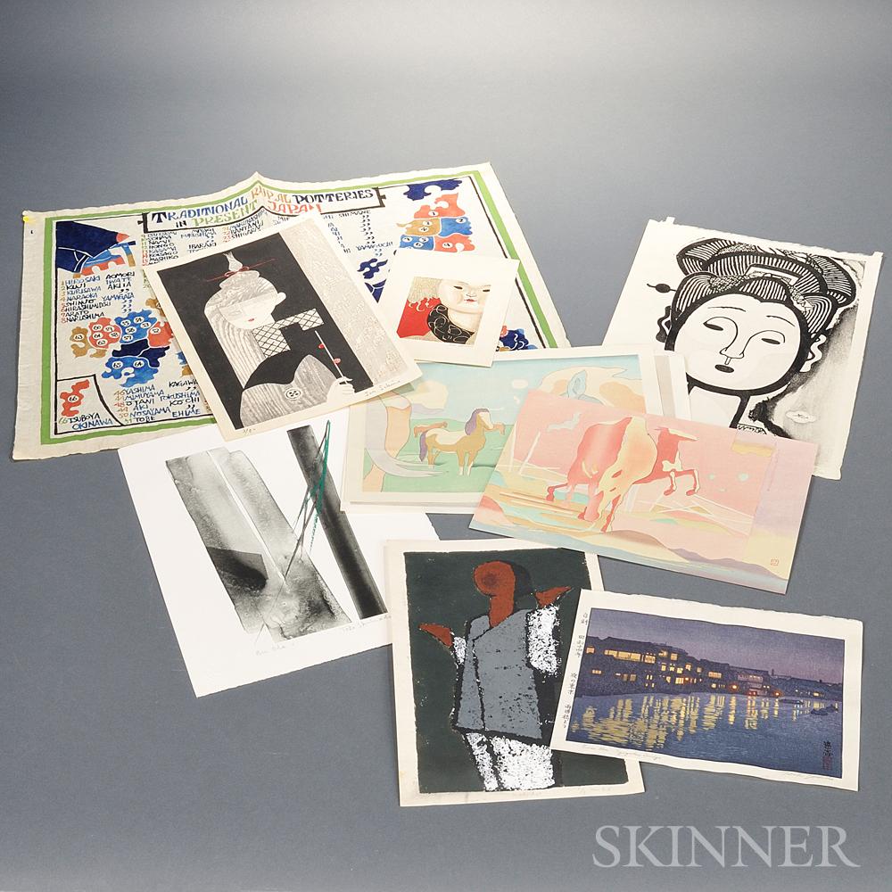 Fifteen Woodblock PrintsFifteen Woodblock Prints