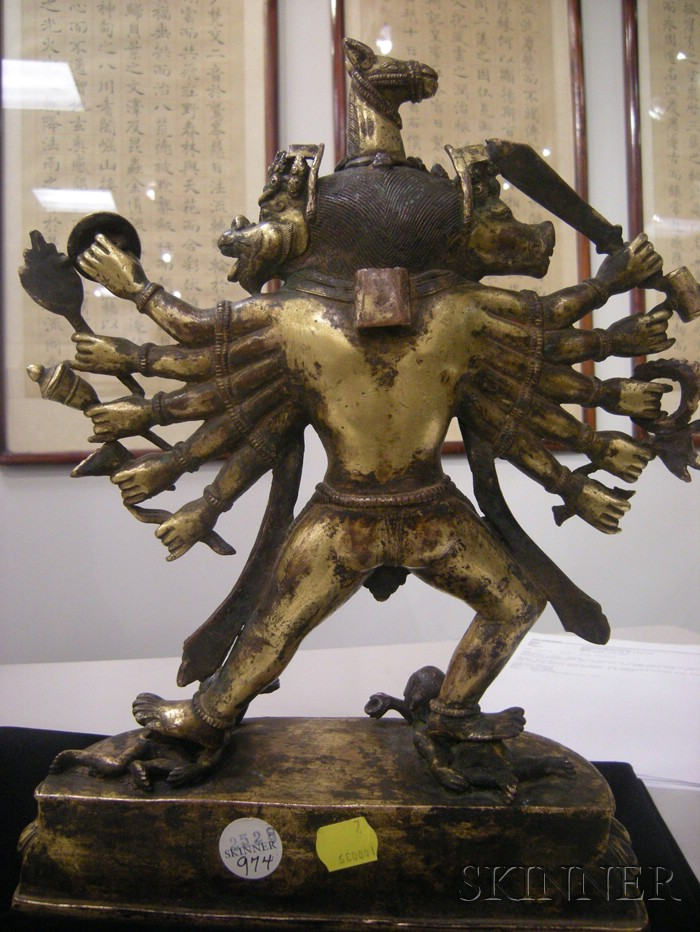 Gilt-bronze Ekavira