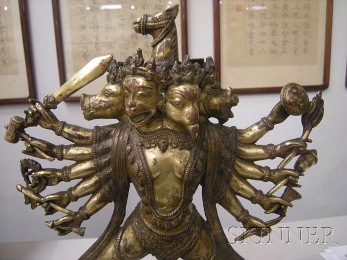 Gilt-bronze Ekavira