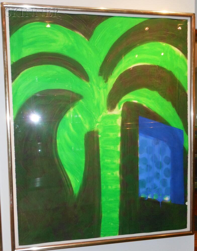 Howard Hodgkin (British, b. 1932)      Palm and Window