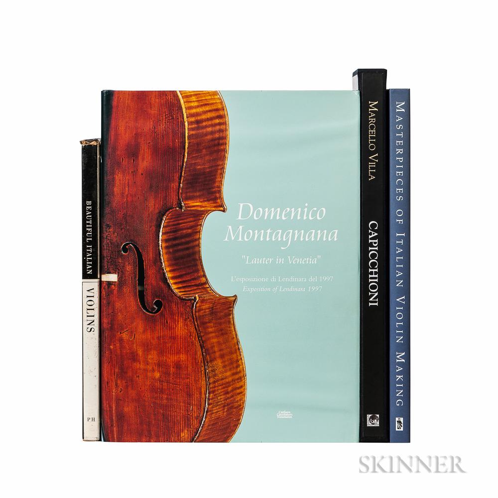 Four Books on Italian Violins