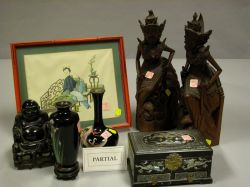 Ten Assorted Asian Decorative Items