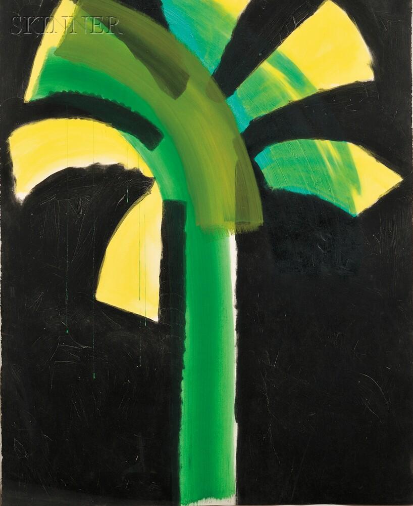 Howard Hodgkin (British, b. 1932)      Night Palm
