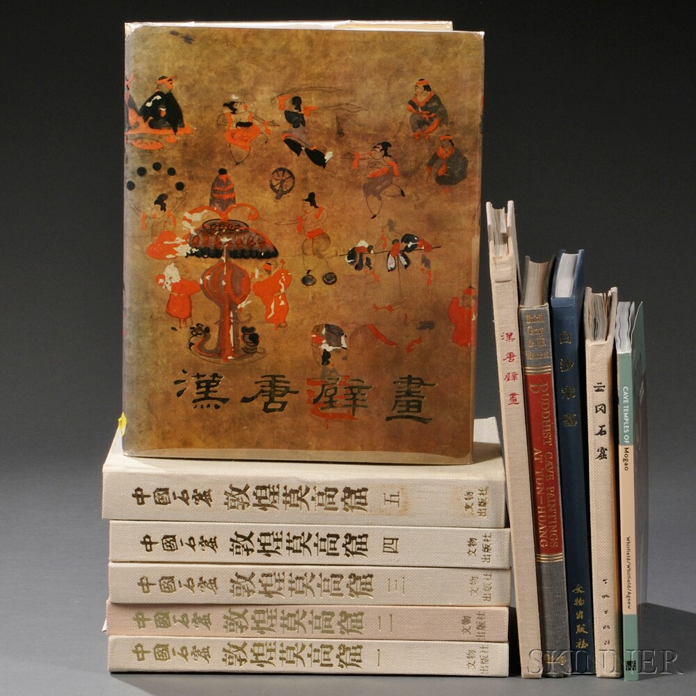 Eleven Books on Chinese Cave Paintings