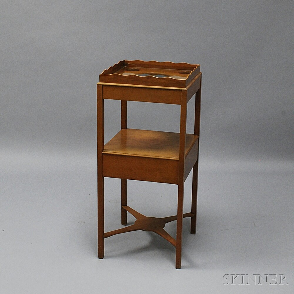 Federal Cherry Washstand