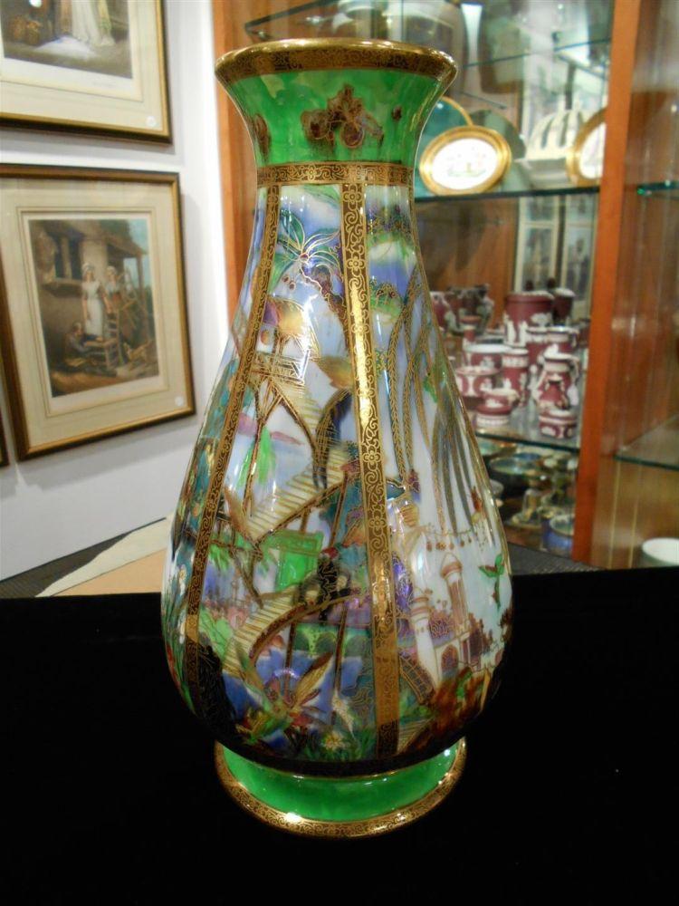 Wedgwood Fairyland Lustre Pillar Vase Sale Number 2975b Lot