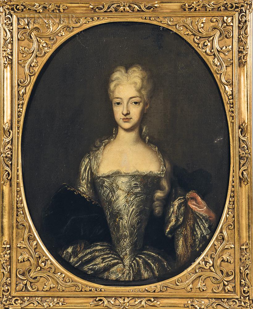 School of Alessandro Longhi (Italian, 1733-1813)      Portrait of a Lady