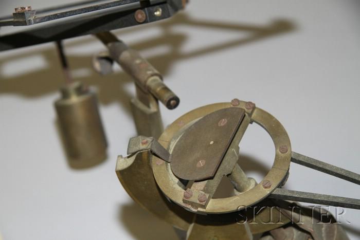 Brass Heliostat by R. Fuess