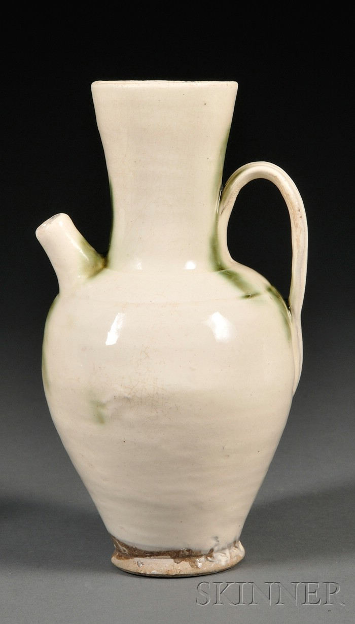 White Glazed Ewer