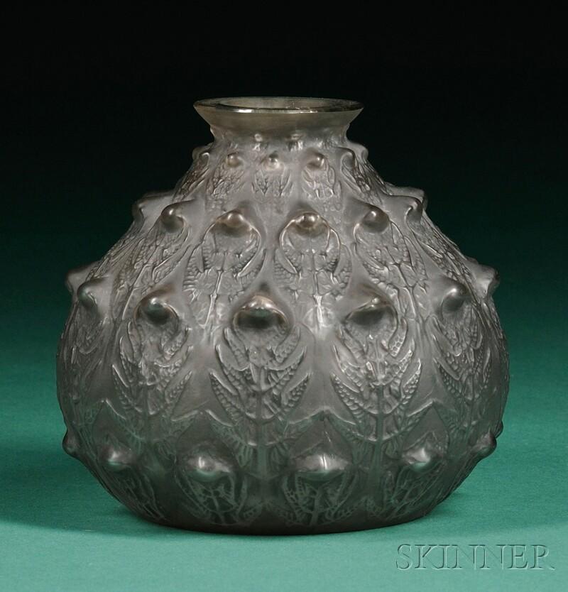 Lalique Fougères Vase