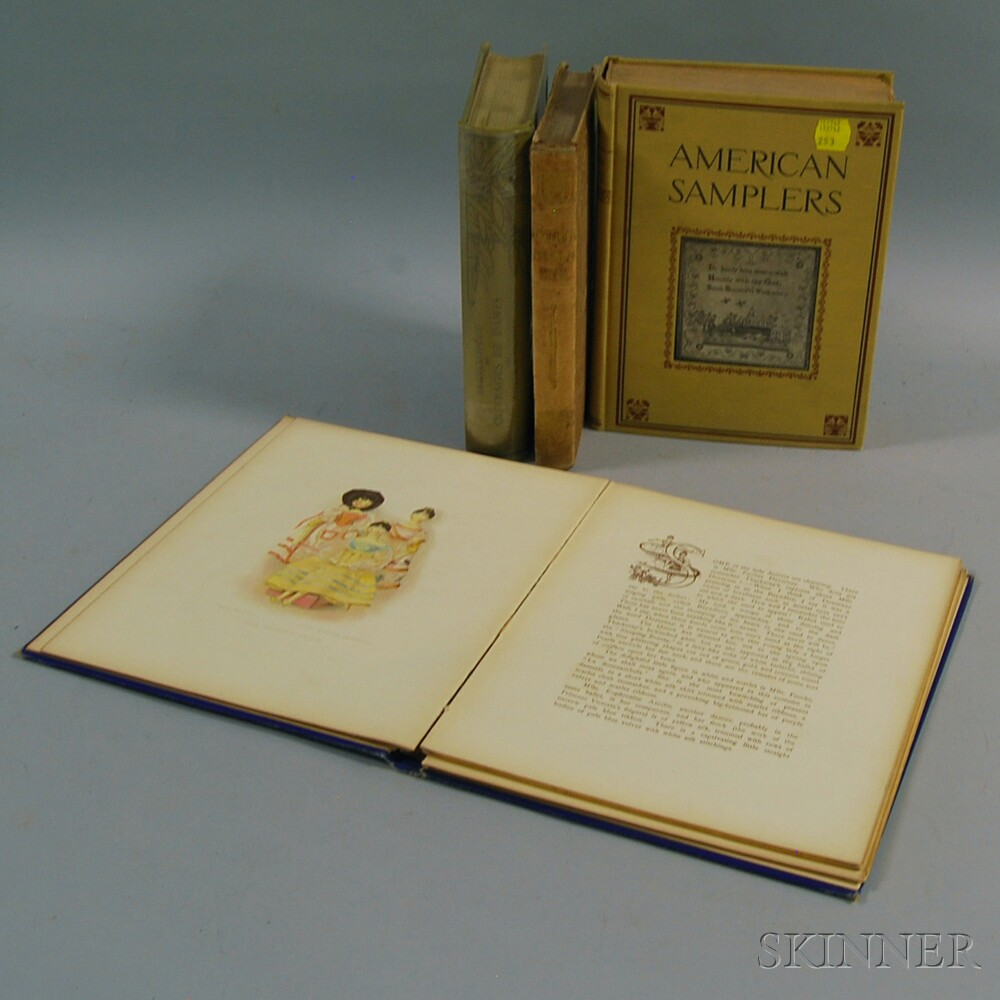Needlework, Three Volumes: