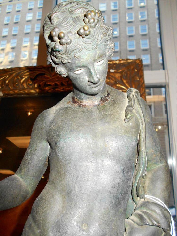 Bronze Grand Tour Figure of Dionysus