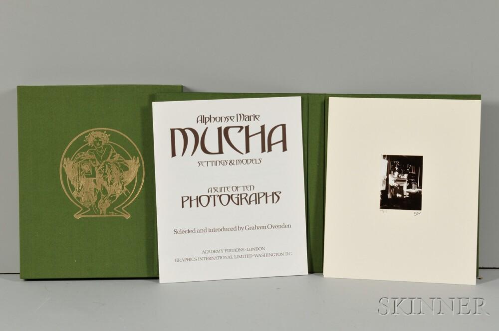 Alphonse Mucha (Czech, 1860-1939)      Settings and Models/ A Suite of Ten Photographs