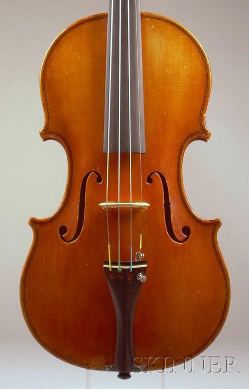 Modern Italian Violin, Workshop of Giuseppe Castagnino, Genoa, c. 1960