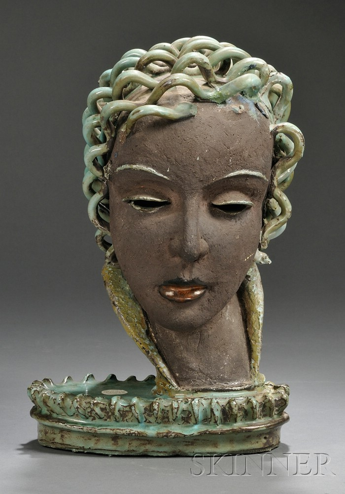Rudolf Knorlein (1902-1988) Ceramic Sculpture