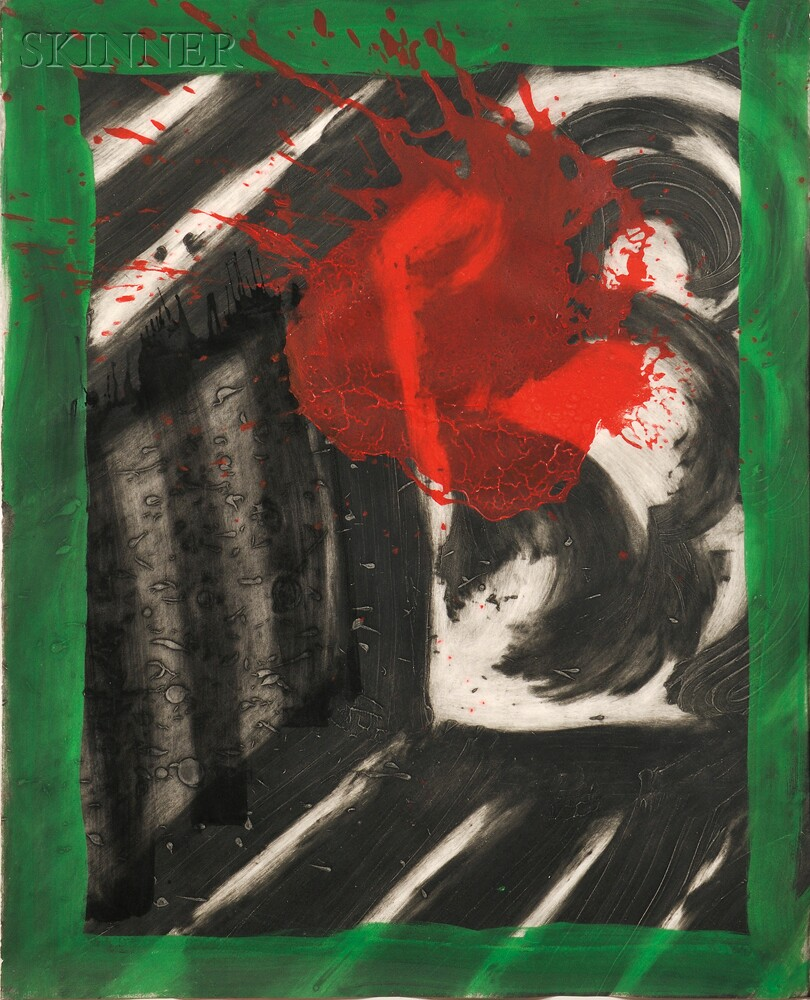 Howard Hodgkin (British, b. 1932)      In an Empty Room