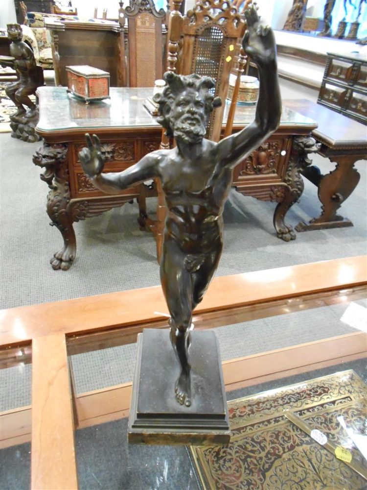 Pair of Bronze Grand Tour Figures