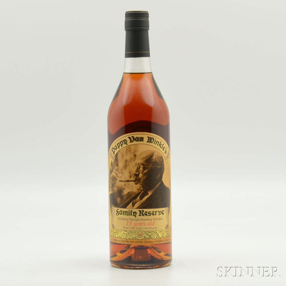 Pappy Van Winkles Family Reserve 15 Years Old 2013, 1 bottle