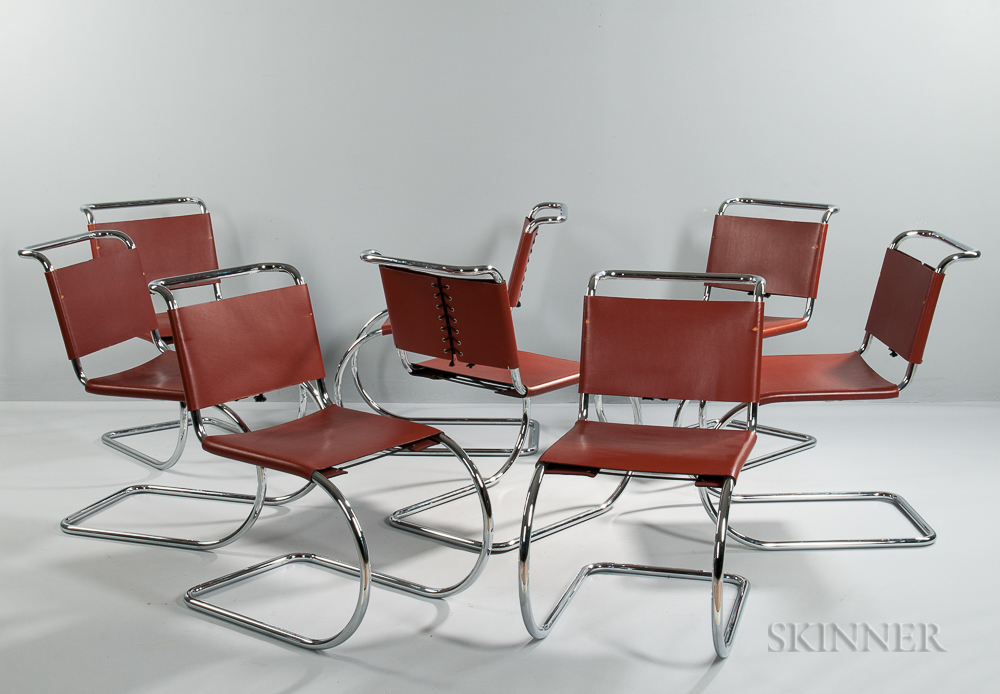 Eight MR Style Chairs
