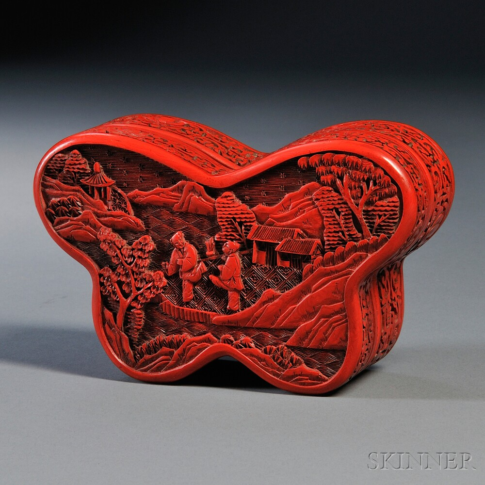 Red Wood Box