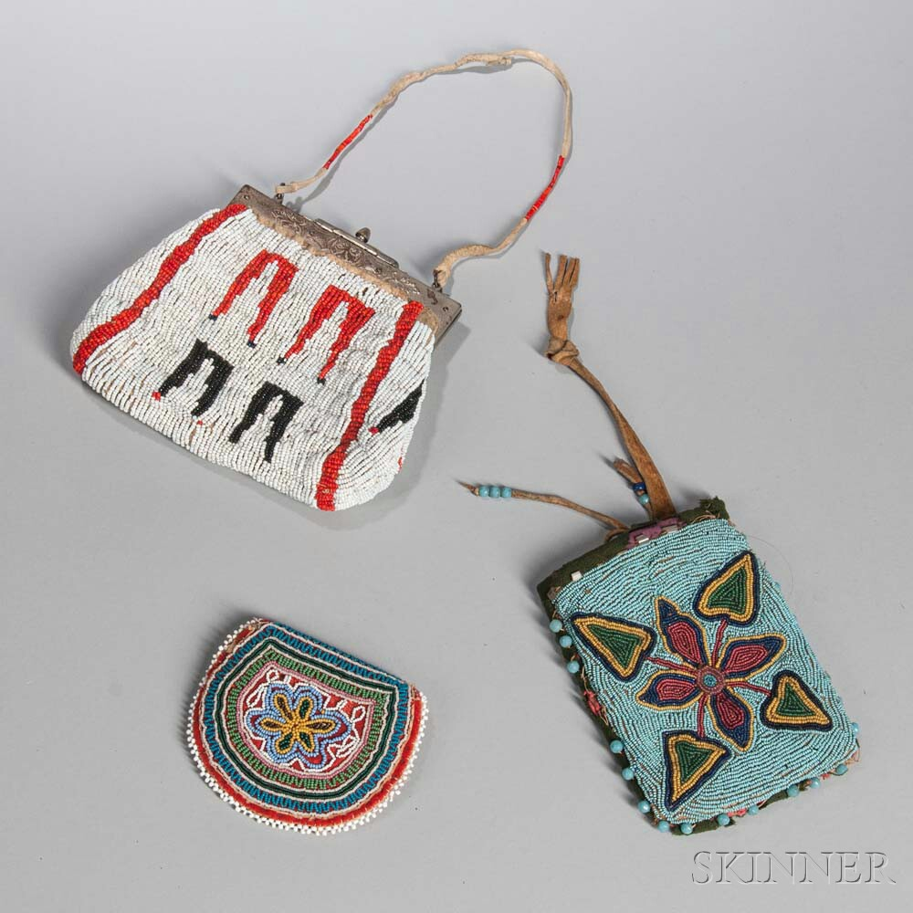 Three Beaded Bags