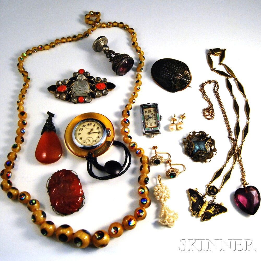 Group of Costume JewelryGroup of Costume Jewelry