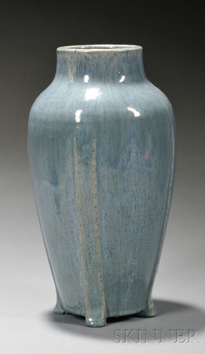 W. J. Walley Pottery Vase