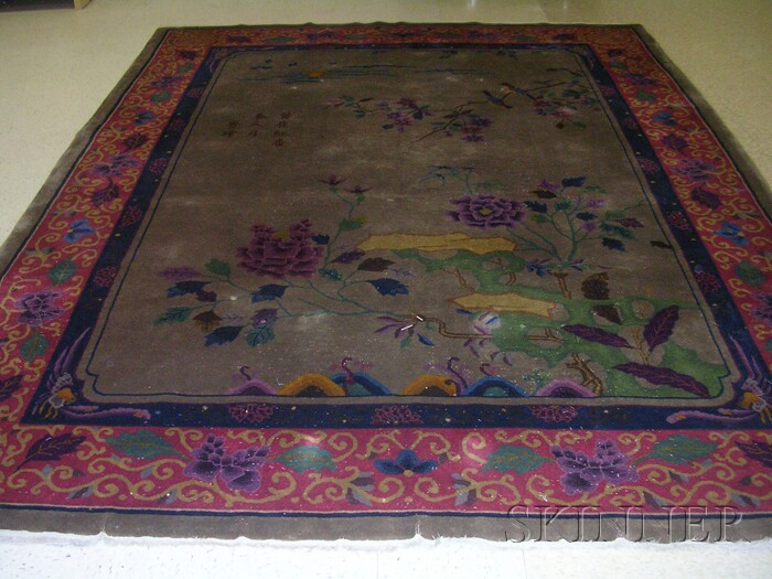 Chinese Nichols Carpet