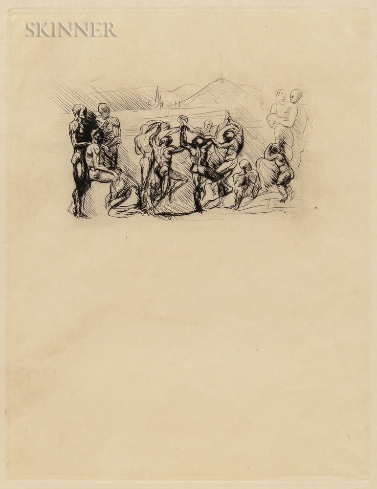 Auguste Rodin (French, 1840-1917)      La Ronde