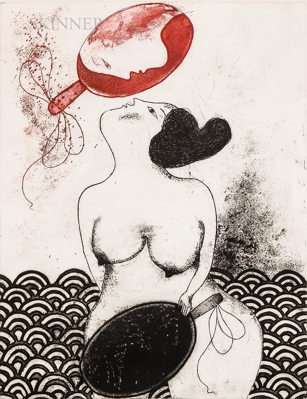 Mayumi Oda (Japanese, b. 1941)      Birth of Venus
