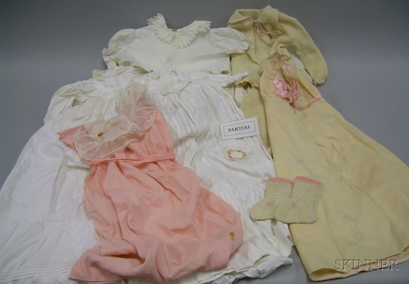 Lot of Assorted Vintage Baby Clothes and Accessories.Lot of Assorted...