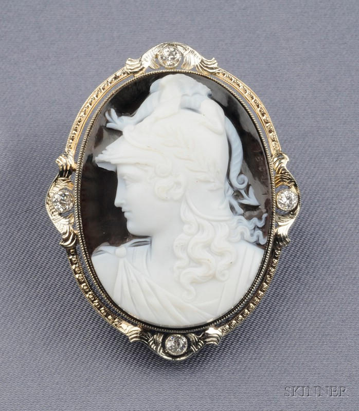 Antique Hardstone Cameo
