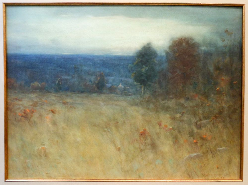Charles Warren Eaton (American, 1857-1937)      Autumn near Montclair