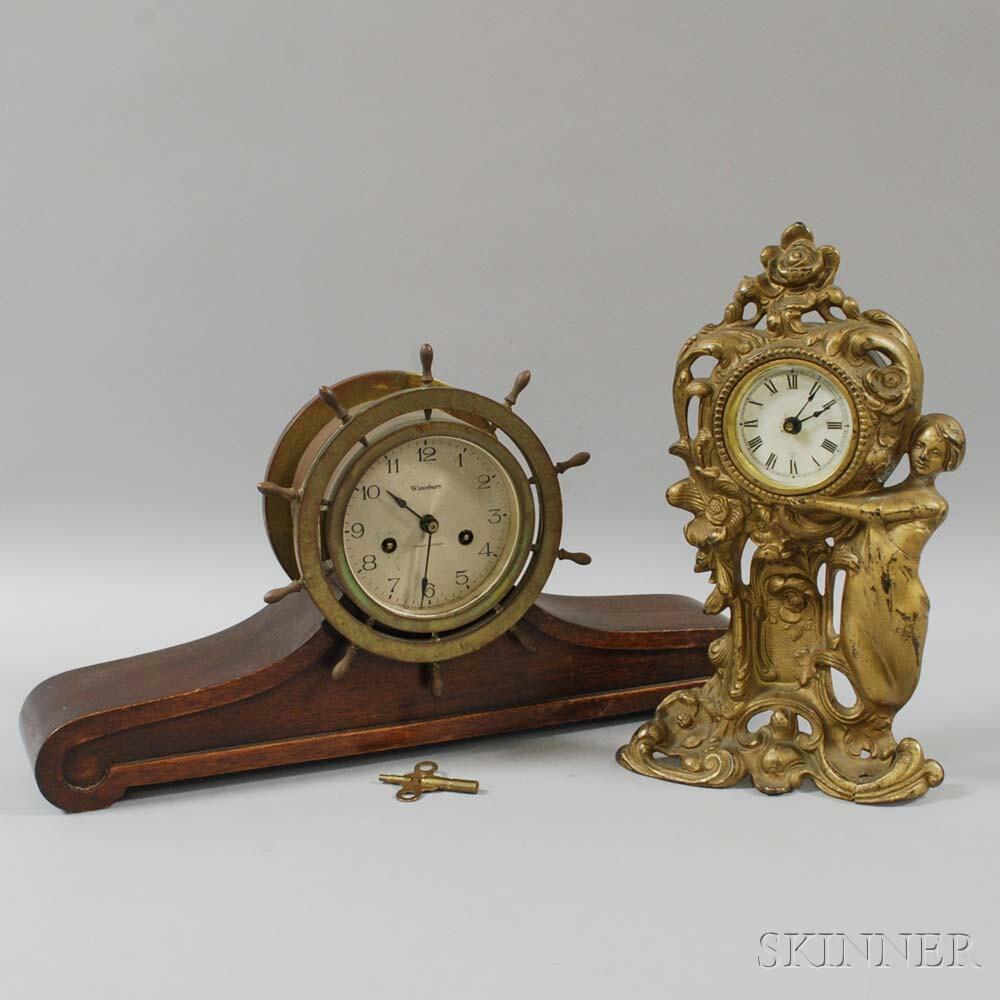 Waterbury and Seth Thomas Mantel Clocks