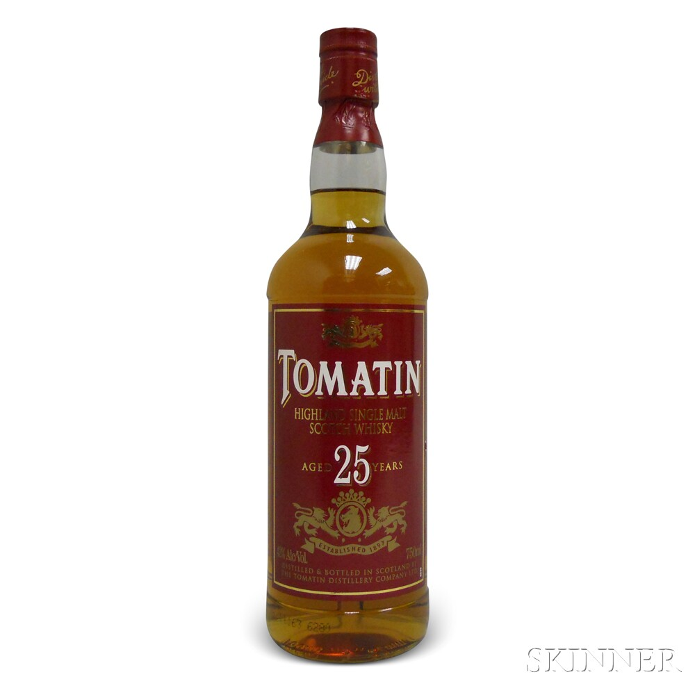 Tomatin 25 Years Old, 1 750ml bottle