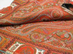 Wool Paisley Woven Shawl.