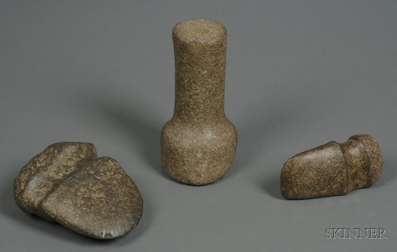 Three Prehistoric Stone Items