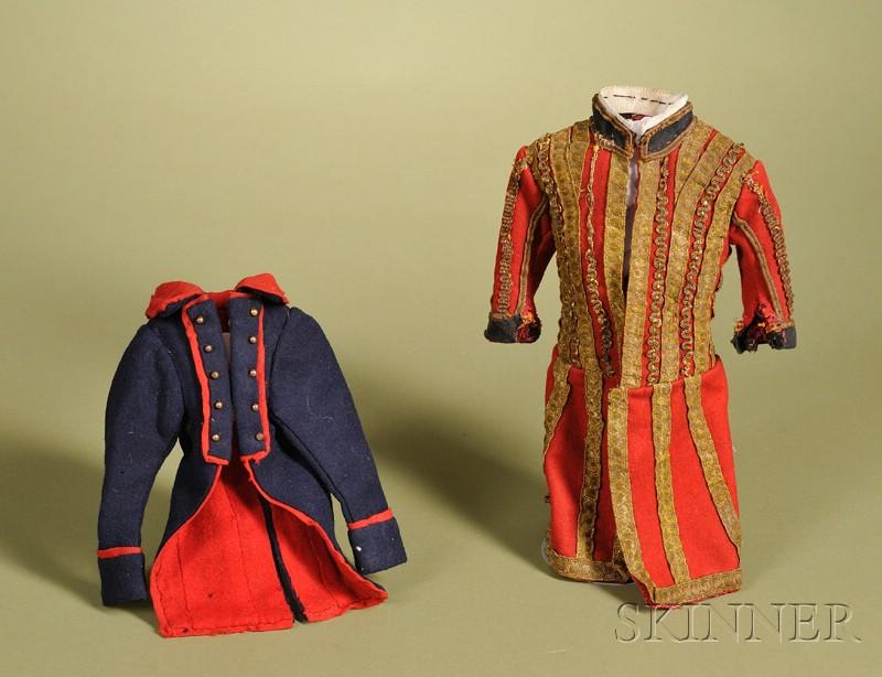 Two Gentleman's Frock Coats