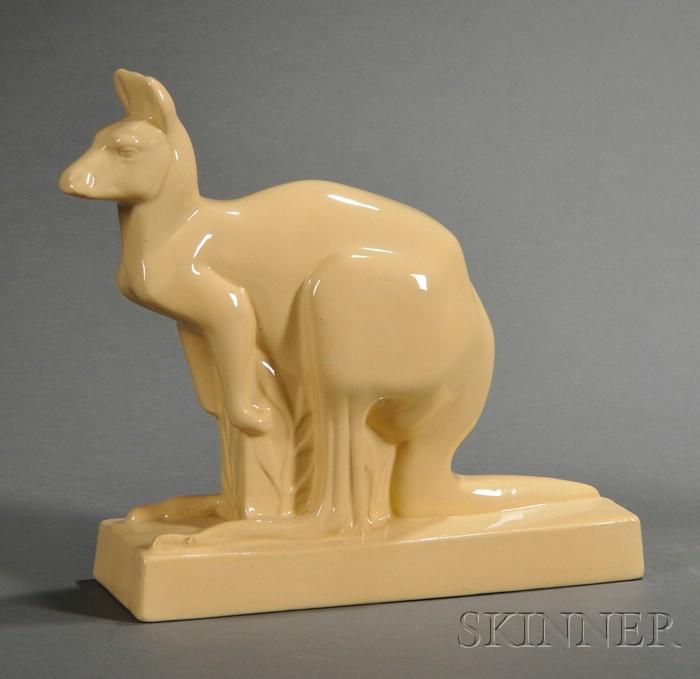 Wedgwood Skeaping Cane Glazed Kangaroo