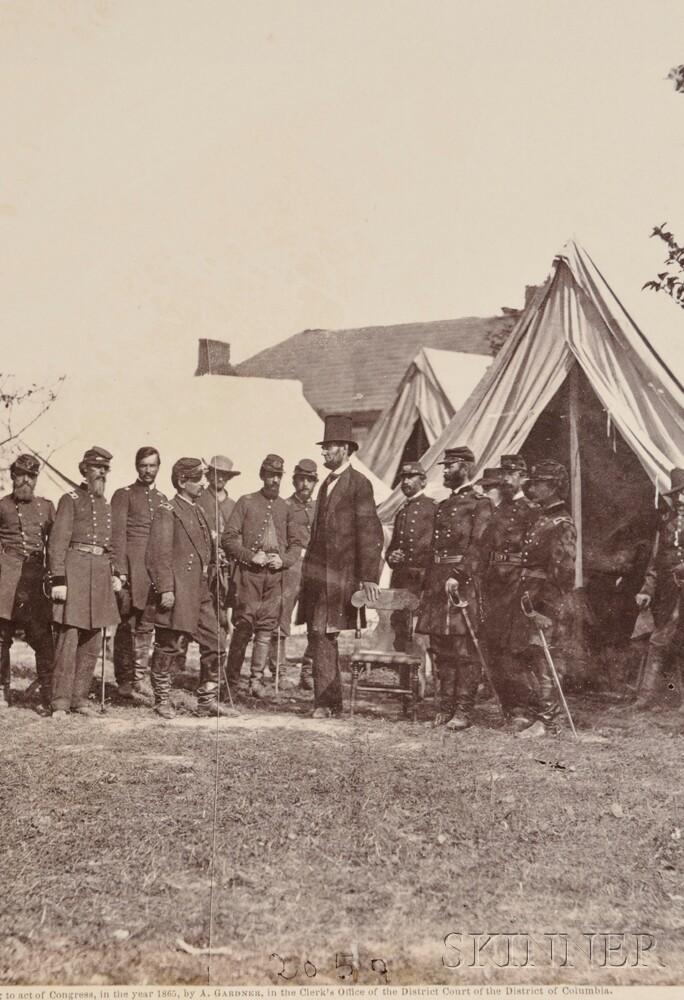 Gardner, Alexander (1821-1882) Photographic Sketch Book of the War